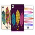 HEAD CASE DESIGNS AZTEC FEATHERS HARD BACK CASE FOR SONY PHONES 2