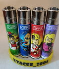 #91 Clipper Lighter Lighters Funny Cartoon Lol Crazy ACCIDENT Single/Full Set