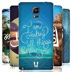 HEAD CASE DESIGNS CHRISTIAN TYPO 3 BATTERY COVER FOR SAMSUNG PHONES 1