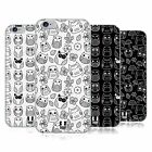 HEAD CASE DESIGNS DOODLE OWLS SOFT GEL CASE FOR APPLE iPHONE PHONES