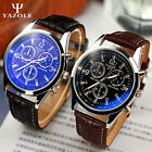 Wholesale ! 5X Men's Date Leather Stainless Steel ARMY Quartz Wristwatch WATCHES