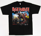 IRON MAIDEN The TROOPER T-shirt Heavy Metal Tee Adult Mens S-2XL Black New