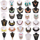 Fashion Women Lady Charm Crystal Choker Chain Chunky Statement Bib Necklace New