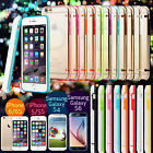 Clear Crystal Soft TPU Silicone Case Cover Skin for Samsung Galaxy S5 iPhone 6
