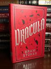 Dracula by Bram Stoker Brand New Leather Bound Collectible Deluxe Edition Horror