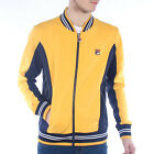 Mens Fila Settanta Yellow Track Top