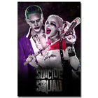 Harley Quinn Joker - Suicide Squad Movie Silk Poster 13x20 24x36 inches 032