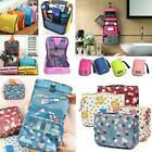 Travel Cosmetic Hanging Wash Bag Zipper Toiletry Purse Make Up Organizer Storage