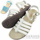 Ladies / Womens Leather Summer / Holiday / Beach Strapped Sandals / Shoes