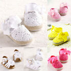 Newborn Baby Infant Toddler Crib White Shoes First Sandal Fashion Girl Soft Sole