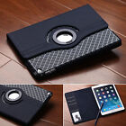 For Apple Ipad Tablets 360 Rotating Flip Leather Case Shockproof Stand Cover