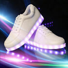 Unisex LED Light Lace Up Women's Men's Casual Sportswear Sneaker Luminous Shoes