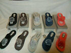 LADIES ELLA DANNI SANDALS FLIP FLOPS BEACH HOLIDAY SUMMER 5 COLOURS UK 3-8 BNIB