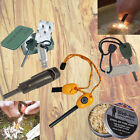 WEB TEX STEEL MAGNESIUM FIRESTARTER MATCH KIT MAYA DUST ARMY BUSHCRAFT SAS SPARK