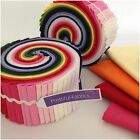 Jelly Rolls, Fat Quarters, Patchwork Packs 100% Cotton RAINBOW COLOURS  NEW