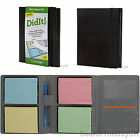 Leather To Do List Notepad Pad Personal Organiser A5 Post It Note Memo Tick Book