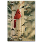 WGI-GALLERY Feathered Friends 1 by Mark Daehlin Painting Print Plaque