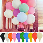 36 Inch Large Giant Oval Latex 10 Colors Balloon Wedding Party Decoration Gift