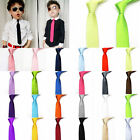 Fashion Kid's Toddlers Stain Solid Color Boys Wedding Party School Neckties Tie
