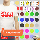 "Siser Easyweed Heat Transfer Vinyl Material T-Shirt 15"" x 1 foot - 59 COLORS"