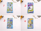 Blue Cartoon Cute Monster Mike Stand Phone Cover Back Case For iPhone 6 6s Plus