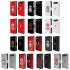 LIVERPOOL FC CREST 1 LEATHER BOOK CASE FOR BLACKBERRY ASUS ONEPLUS PHONES
