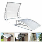 Door Canopy Font Back Awning Shelter  Outdoor Porch Shade Patio Cover 120 x 80cm