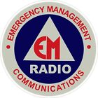 Emergency Management Communications Radio Decal / Sticker