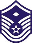 US Air Force USAF Master 1st Sergeant Rank Insignia Decal / Sticker