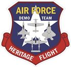 US Air Force USAF Demo Team Heritage Flight Decal / Sticker