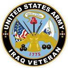 U.S. Army Iraq Veteran Decal / Sticker