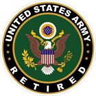 U.S. Army Retired Eagle Decal / Sticker