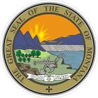 Montana State Seal Decals / Stickers