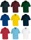 New Blue Max Mens Cogs Polo Shirts Ribbed Cuff Buttoned Casual T-Shirt Top Snr