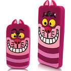 Cute 3D Cartoon Animal Silicone Rubber Case Cover For Apple iPhone Mobile Phone