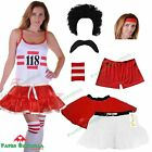 Ladies 118 FANCY DRESS costume set Marathon Fun Run Hen Party Vest Tutu skirt