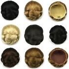 New Fashion Women's Wigs Clip-on Synthetic Hairpiece Dish Hair Bun Contract Tail