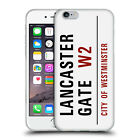 OFFICIAL LONDON STREET SIGNS 2 SOFT GEL CASE FOR APPLE iPHONE PHONES