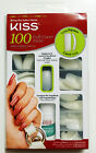 KISS LONG SQUARE 100 FULL COVER NAILS #66020 100PS23 GLUE ON TIPS