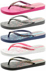 Ipanema Brasil Aloe Flower Womens Flip Flops ALL SIZES AND COLOURS
