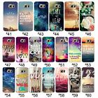 Case Cover For Samsung Galaxy S7 edge Scenery Praverb PatternClear Soft TPU Skin