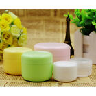 Empty Travel Cosmetic Jar Face Cream Balm Bottle Container Inner Lid 20/50/100ml