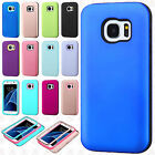 For Samsung Galaxy S7 IMPACT Verge HYBRID Case Skin Phone Cover Accessory