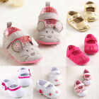 Newborn Baby Infant Toddler Crib Shoes Cute Sneaker Animal Soft Sole Prewalker