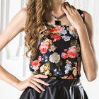 Women Fashion Summer Loose Chiffon Short Sleeve Tops Blouses T Shirt Tank Vest