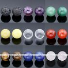 Natural Round Chakra Gemstone Reiki Healing Energy Balls For Locket Pendant DIY