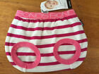 Baby Bonds pink stripe babytails pants BNWT- Size 00 RRP $12.95. FREE POST!