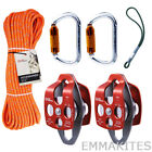 Basic Tree Surgeon Climbing Kit with Prusik Loop for Arborists Tree Working