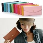 Korea Candy Color Handbag Vintage Trendy Casual Clutch Bag Faux Leather Purse