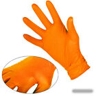 Box of Extra Strong Textured Grip Nitrile Fish Scale Disposable Gloves Mechanics